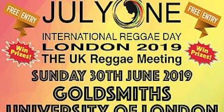 International Reggae Day 2019 @ Goldsmiths tickets