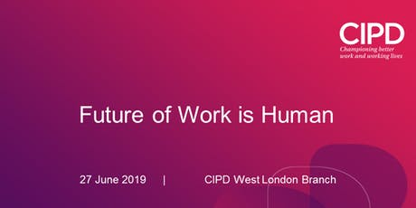 Future of Work is Human tickets