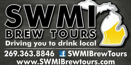 Brewery / Winery Tour - Pick up in Granger, IN tickets