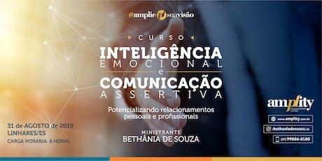 CURSO INTELIGÊNCIA EMOCIONAL E COMUNICAÇÃO ASSERTIVA bilhetes