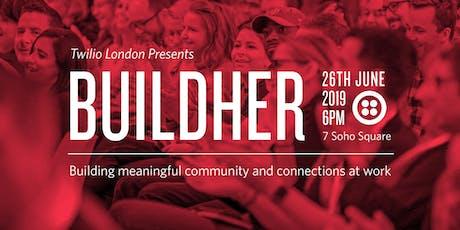 Twilio London Presents: BuildHer, championing inclusivity at work tickets