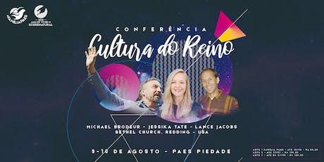 Conferência Cultura do Reino ingressos