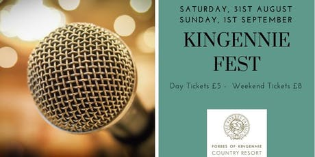 Kingennie Fest tickets