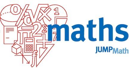 Descubre JUMP Math en Bilbao: desde el razonamiento númerico al aprendizaje competencial. tickets