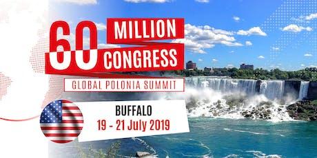 60 Million Congress - Global Polonia Summit_Buffalo2019 tickets