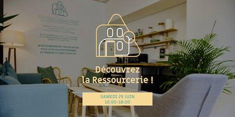 Journée portes ouvertes à la Ressourcerie billets