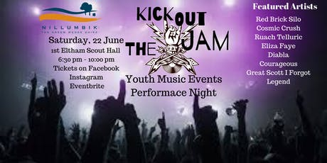 Kick Out the Jam Youth Music Performance Night tickets