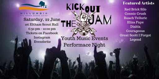 Kick Out the Jam Youth Music Performance Night