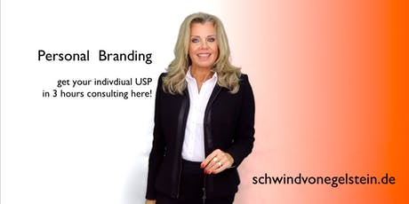 Personal Branding - 3h Individual Consulting Session - English and German billets