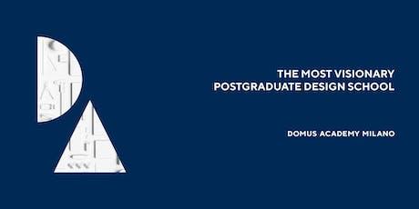 Domus Academy in Mumbai - Meet the Alumni tickets