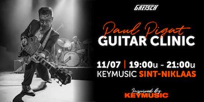 Paul Pigat Guitar Clinic KEYMUSIC Sint-Niklaas