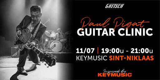 Paul Pigat Guitar Clinic KEYMUSIC Sint-Niklaas
