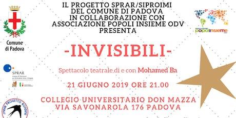 Invisibili_ Giornata Mondiale del Rifugiato biglietti