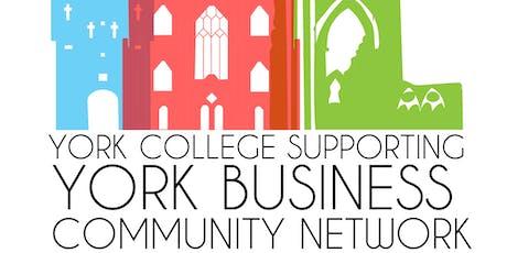 York Business Community Network - Banyan Bar & Kitchen tickets