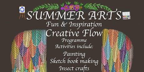 Creative Flow Camp - Summer Arts tickets