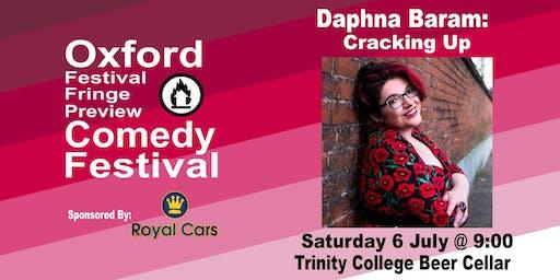 Daphna Baram: Cracking Up at the Oxford Festival Fringe Preview Comedy Festival