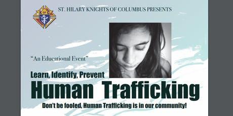 """HUMAN TRAFFICKING """"AN EDUCATIONAL EVENT"""" Learn, Identify, Prevent tickets"""