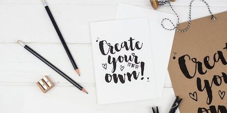Brush Lettering for Beginners Workshop  tickets