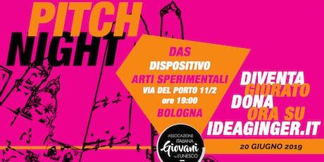 Unesco Giovani Pitch Night tickets