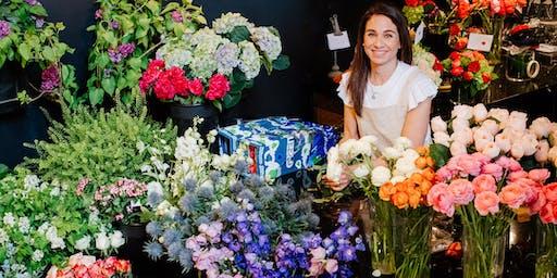Coffee and Flowers: Flower Design Workshop
