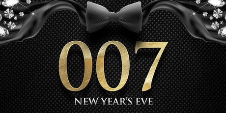 New Years Eve 007 James Bond Party tickets