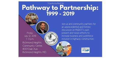 MoDOT's Pathway to Partnership: 1999 - 2019 tickets