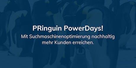 PRinguin PowerDay - Suchmaschinenoptimierung (SEO) Tickets