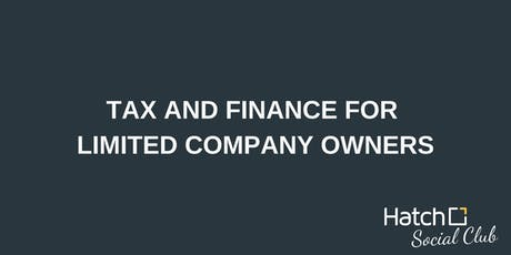 Tax And Finance For Limited Company Owners tickets
