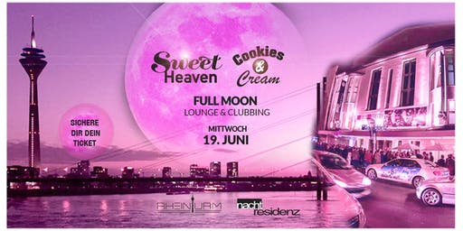 Sweet HEAVEN x Cookies & Cream - Skyline Full Moon Night