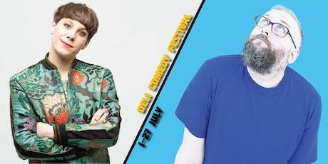 Suzi Ruffell & Phil Jerrod - Deli Comedy Festival  tickets