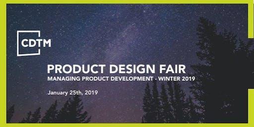 MPD Product Design Fair | Spring 2019