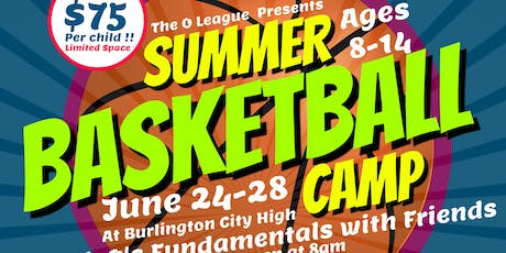 Coach O's Summer Basketball Camp; Fundamentals With Friends tickets