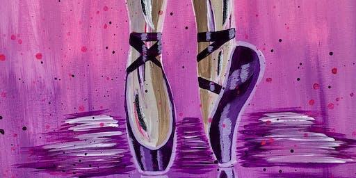 Ballerina Paint & Sip