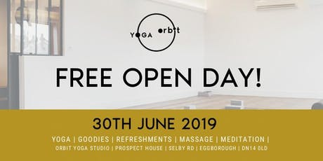 Free Open Day tickets