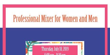 Summer Rooftop Event: Professional Mixer for Women & Men tickets