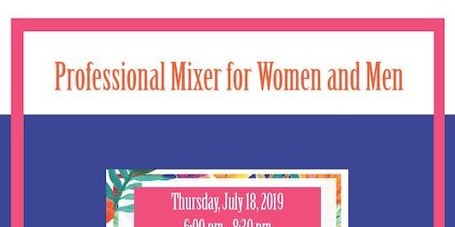 Summer Rooftop Event: Professional Mixer for Women & Men