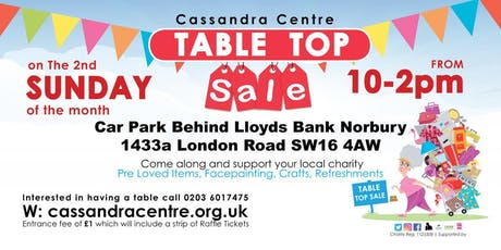 Cassandra Centre Table Top Sale tickets