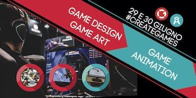 Presentazione corsi Game Design, Game Art e Game Animation | Open Day