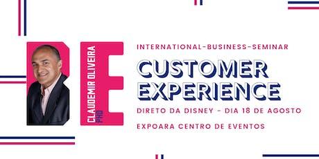 Customer Experience - International Business Seminar ingressos
