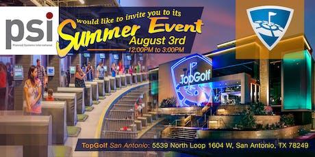 PSI San Antonio Summer Event 2019 tickets