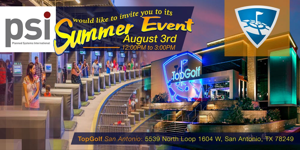 Psi San Antonio Summer Event 2019 Tickets Sat 3 Aug 2019 At 1200