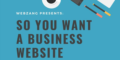 So you want a business website