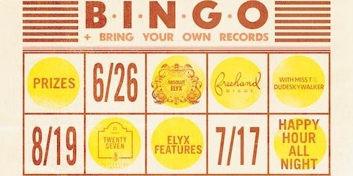 Bingo + BYO Records Night