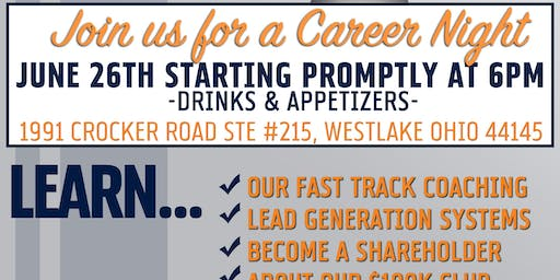 Real Estate Career Night June 2019