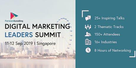 Digital Marketing Leaders Summit Singapore 2019 tickets