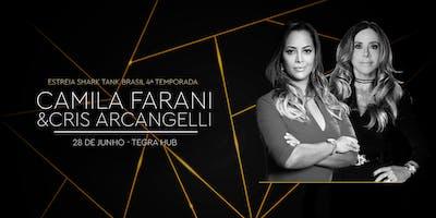 Estreia 4º temporada Shark Tank Brasil, com Camila Farani e Cris Arcangelli