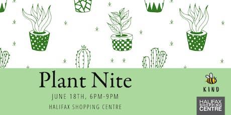Plant Nite tickets