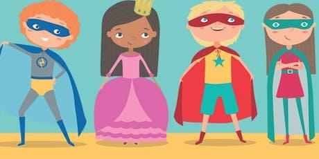 Superhero & Princess Lunch tickets