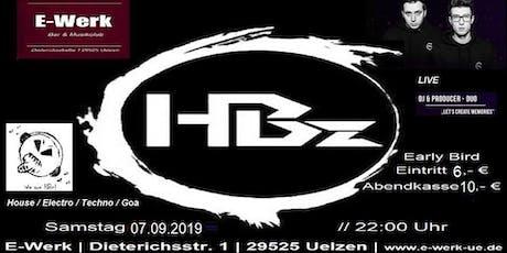 E-Werk präsent HBz *6 Std. live*exklusiv (Sonderveranstaltung) Tickets
