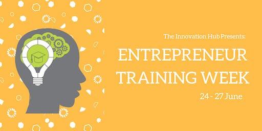 Brunel Entrepreneur Training Week 2019